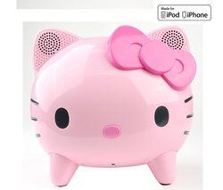 AMETHYST Reproduktor Hello Kitty ružový a fialový