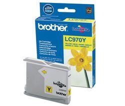 BROTHER Atramentová náplň LC970Y - Žltá