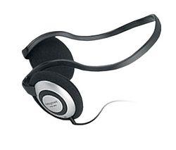 CREATIVE Slúchadlá HQ-80 Backphones + Predl?ovaeka Jack 3,52 mm -nastavenie hlasitosti a inter mono/stereo - Pozlátený - 3 m