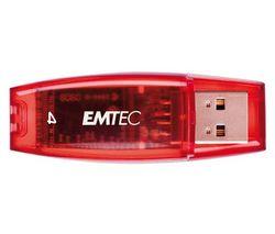 EMTEC Kľúč USB 2.0 C400 4 GB - červený