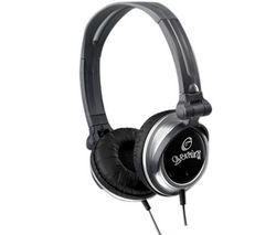 GEMINI Slúchadlá DJX-03 - čierne/sivé