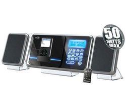 H&B Mikroveža CD/MP3/USB/iPod a iPhone HF-430i + Slúchadlá Philips SHE8500