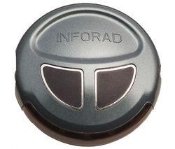 INFORAD Prístroj pre upozornenie na radary V3 + puzdro  + USB zásuvka do zapaľovača