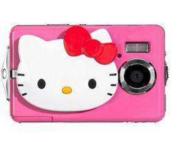 INGO Digitálny fotoaparát Hello Kitty + Pamäťová karta SDHC 4 GB