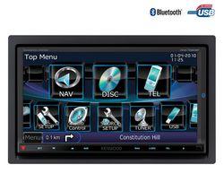 KENWOOD Multimediálne autorádio GPS DVD/DivX USB/Bluetooth DNX7260BT + Farebná kamera na cúvanie CCD50