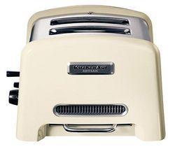 KITCHENAID Hriankovač 5KTT780EA krémový + Mriežka na sendvič 5KTSR + Ohrievač na pečivo 4 plátky - 5KTBW4