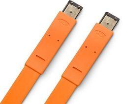 LACIE Kábel FireWire 400 na FireWire 400 Flat Cables - 1,2m - oranžový (130853)