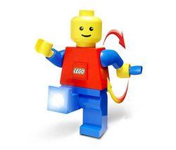 LEGO Lego Dynamo Torch + Lego brick light