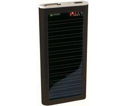 MCL SAMAR Solárna nabíjačka IP1 - čierna