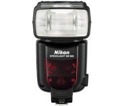 NIKON Blesk SB-900 + Nabíjačka 8H LR6 (AA) + LR035 (AAA) V002 + 4 Batérie NiMH LR6 (AA) 2600 mAh