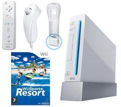 NINTENDO Konzola Wii + 1 Nunchuk + 1 Wiimote + Wii Motion Plus + Wii Sport Resort + Wii Fit Plus (Wii Balance Board súcastou balenia) [WII] + Wiimote (diaľkové ovládanie Wii Remote) [WII] + Wii Motion Plus [WII] + Nunchuk ovládač [WII]