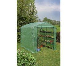 NORTENE Skleník Maxi-Gardening dvojitá strecha 6 policiek
