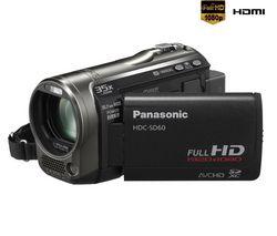 PANASONIC Videokamera HDC-SD60 - čierna + Brašna + Pamäťová karta SDHC 8 GB