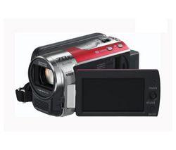 PANASONIC Videokamera SDR-H85 - červená + Brašna + Ąahký statív Trepix