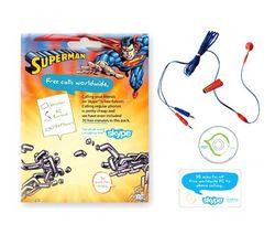 PERFECTEL Sada Starter kit VoIP Skype Superman DC
