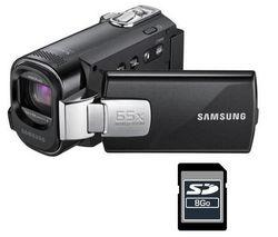 SAMSUNG Videokamera SMX-F40 + pamäťová karta SD 8 GB