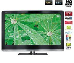 SHARP LC-46LE810E LED Television + Kábel HDMI - vidlica 90° - Pozlátený - 1,5 m - SWV3431S/10