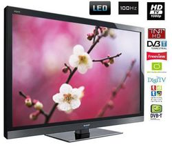 SHARP Televízor LED 46LE705E + Kábel HDMI - vidlica 90° - Pozlátený - 1,5 m - SWV3431S/10
