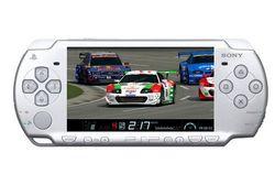 SONY COMPUTER Konzola PSP 3000 Slim & Lite strieborná