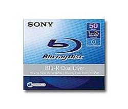 SONY Disk Blu-ray BD-R BNR50AV 50 GB