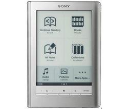 SONY Elektronická kniha PRS-600 Touch strieborná