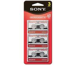 SONY Mikro kazeta audio MC-60 - 60 min. - 3 kusy