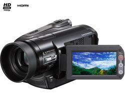 SONY Videokamera MiniDV HD HDR-HC9 + Brašna + Balenie 8 + 2 kazety MiniDV DVM 60 Premium + Batéria SFHNC50S