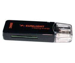 SUNLIGHT SYSTEMS Čítačka kariet xD čierna USB 2.0