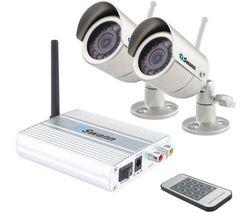 SWANN Sada 2 bezdrôtové bezpecnostné kamery SW233-H2Y