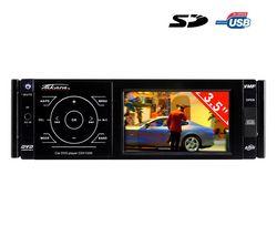 TAKARA Autorádio DVD/CD/USB/SD CDV1235 + Farebná kamera na cúvanie CCD50