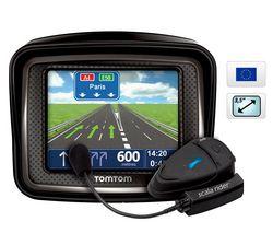 TOMTOM Urban Rider Pro GPS for Europe + Sada proti defektu na motorku