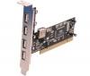 ADVANCE Karta radič PCI 4 porty USB 2.0 USB-204P + Kábel USB A samec/ samica - 1,8 m (F3045027)