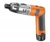 AEG Aku skrutkovač 3,6 V - SE 3.6 NICD + Kufrík 35 súčiastok - skrutkovačie nástavce a vrtáky (4932352249)