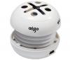 AIGO Prenosný reproduktor E086 - biely