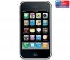 APPLE iPhone 3G S 32 GB - čierny + Ochranná fólia  + Čierny silikónový kryt
