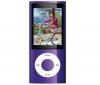 APPLE iPod nano 8 GB fialový (5G) (MC034QB/A) - videokamera - rádio FM - NEW + Slúchadlá HOLUA S2HLBZ-SZ - strieborné