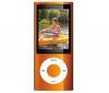 APPLE iPod nano 8 GB oranžový (5G) (MC046QB/A) - videokamera - rádio FM - NEW + Slúchadlá HOLUA S2HLBZ-SZ - strieborné