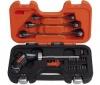 BAHCO 808050P Pistol Ratchet Screwdriver + Spanners