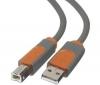 BELKIN Kábel USB 2.0 s 4 pins, typ A samec / type B samec - 91 cm (CU1000aed03)