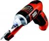 BLACK & DECKER Akumulátorový skrutkovač AutoSelect AS36LN + Kufrík s príslušenstvom pre vŕtanie a skrutkovanie  51 súčiastok A7158