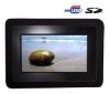 BLUETECH Multimediálny fotorám Bluetech 7'' + Pamäťová karta SD 2 GB + Aplikátor pre cistenie digitálneho fotorámceka + Mini digitálny rámik 2,4