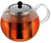 BODUM Cajník s piestom ASSAM 1801-16 + Sada 2 poháre na kávu Assam 4553-16 (x2)