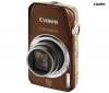 CANON Digital Ixus  1000 HS - marron + Pamäťová karta SDHC 8 GB + Ultra Compact PIX leather case