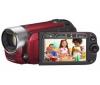 CANON Videokamera Legria FS306 červená + Charger + Camcorder Battery compatible CANON for BP-808 + Pamäťová karta SDHC 8 GB + Čítačka kariet 1000 & 1 USB 2.0