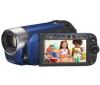 CANON Videokamera Legria FS306 modrá + Charger + Camcorder Battery compatible CANON for BP-808 + Pamäťová karta SDHC 4 GB + Čítačka kariet 1000 & 1 USB 2.0