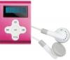 CLIP SONIC MP3 prehrávač MP103 1 GB ružový + USB nabíjačka - biela