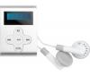 CLIP SONIC MP3 prehrávač MP103 1 GB sivý + USB nabíjačka - biela