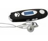 CLIP SONIC Prehrávač MP3 MP66 1 GB čierny + 4 alkalické baterky LR03 (AAA)