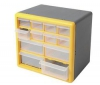 COGEX Plastová skrinka s 12 zásuvkami (62246)