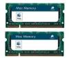 CORSAIR Pamäť notebook Mac Memory 2 x 4 GB DDR2-800 PC-6400 (VSA8GBKITFB800D2)